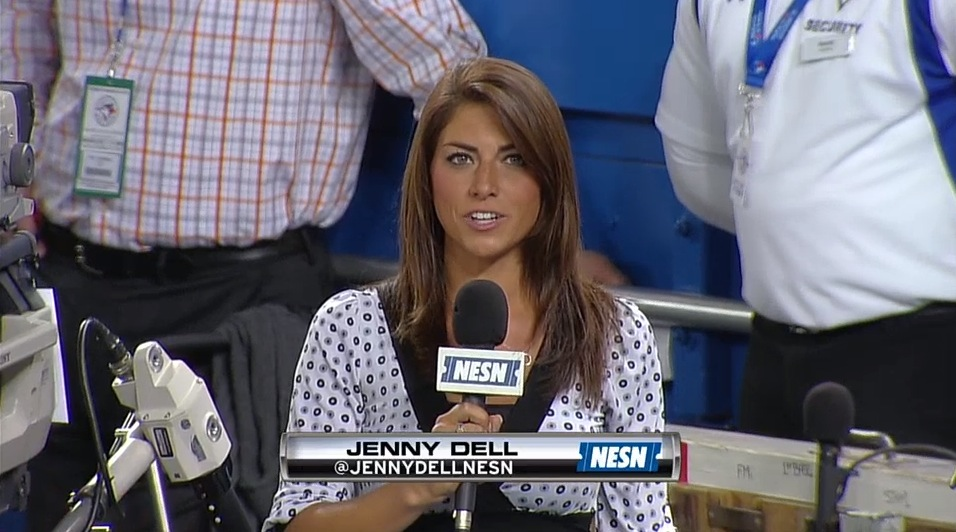 19 jenny dell nesn - most popular female sports reporters on twitter