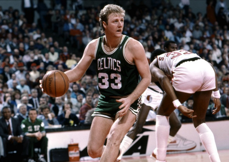 19 larry bird - nba 60 points club (players who have scored 60 points in a game)