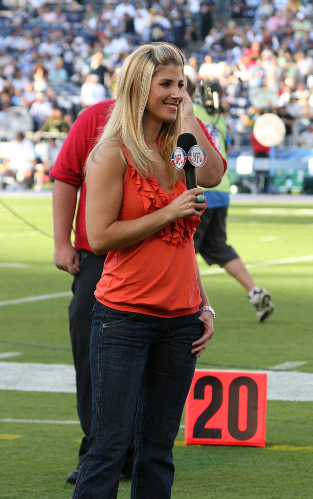20 michelle-beisner nfl network - most popular female sports reporters on twitter