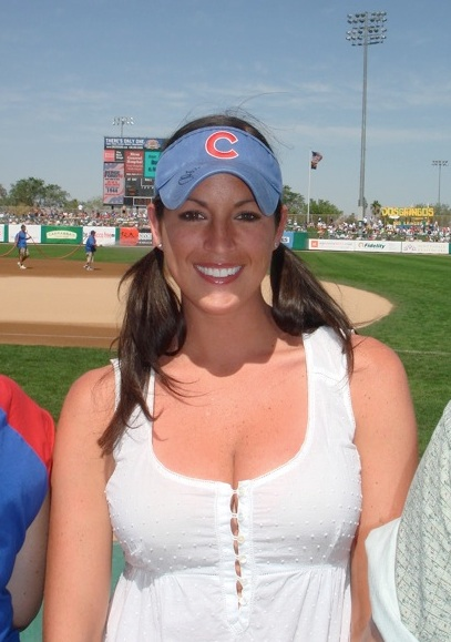 21 sarah spain (espn chicago) - most popular female sports reporters on twitter