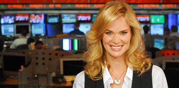 22 jennifer hedger tsn - most popular female sports reporters on twitter