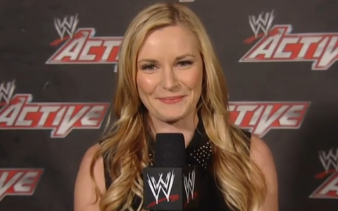 23 renee young wwe - most popular female sports reporters on twitter