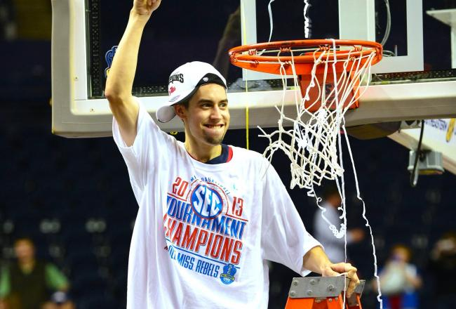 6 ole miss marhsall henderson (sec tournament champions) - ncaa tournament underdogs
