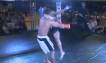 MMA Fighter Knocked Out Cold Just 8 Seconds Into Round One (Video)