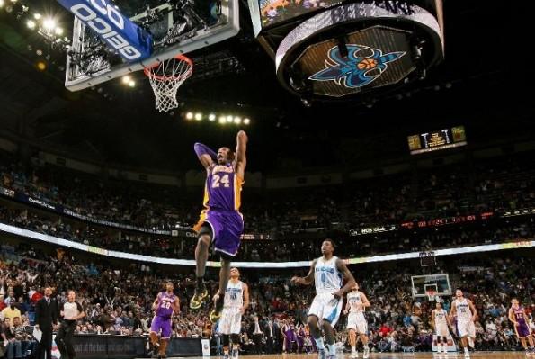 Kobe Bryant vs hornets