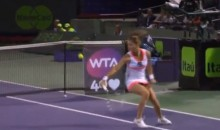 Agnieszka Radwanska Gives Us the Best Tennis Shot of the Year So Far (Video)