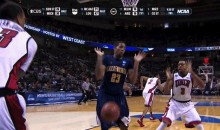 NCAA March Madness GIF: Basketball to the Groin