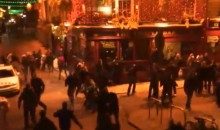 Austrian Soccer Hooligans Brawl in Dublin Streets the Night Before the Austria-Ireland World Cup Qualifier (Video)