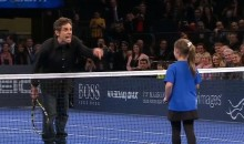 Ben Stiller Joins Rafael Nadal on the Tennis Court, Gets Beat by a Little Girl (Video)