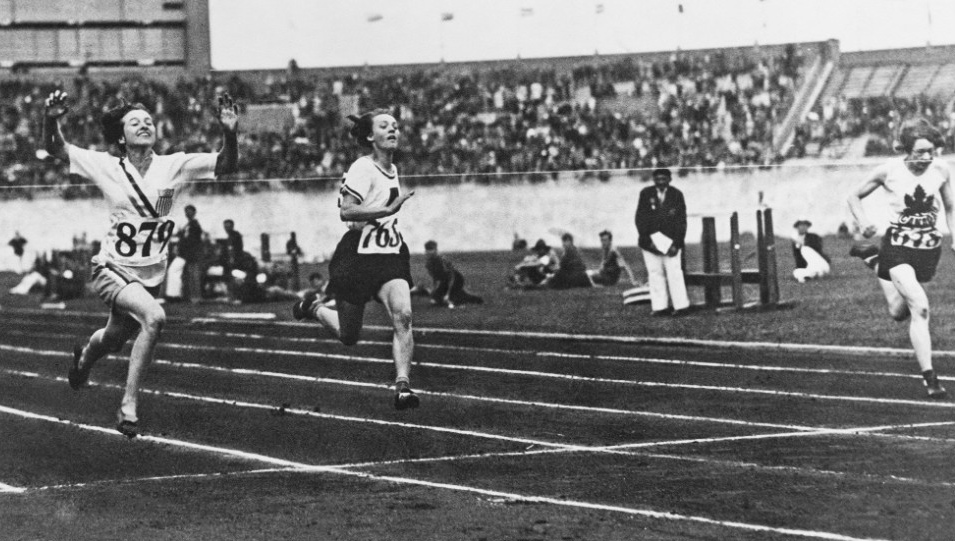betty robinson first female olympic gold medalist - female sports firsts