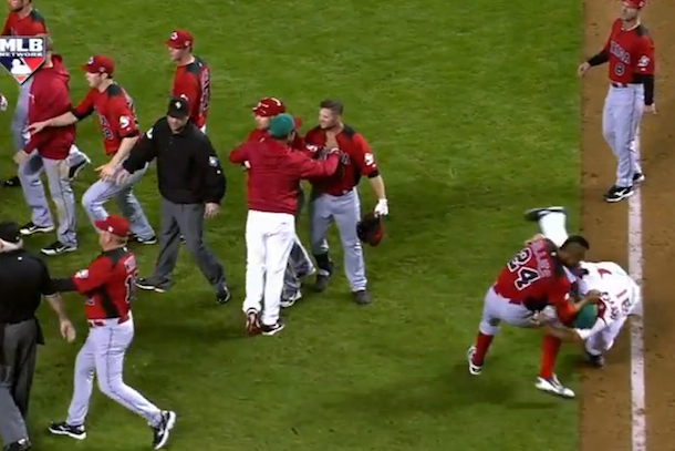 brawl canada mexico world baseball classic