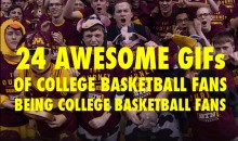 24 GIFs of College Basketball Fans Being College Basketball Fans