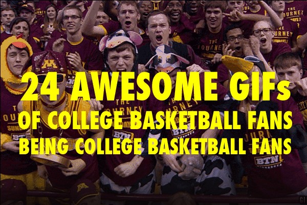 college basketball fan gifs