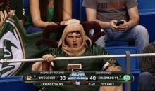NCAA March Madness GIF: Colorado State Fan Looks Like an Actual Ram