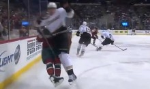 Corey Perry Should Be Hearing from Brendan Shanahan After This Headshot on Jason Zucker (Video)