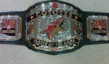 "The Phoenix Coyotes ""Player of the Game"" Trophy Is a WWE-Style Championship Belt (Pic)"