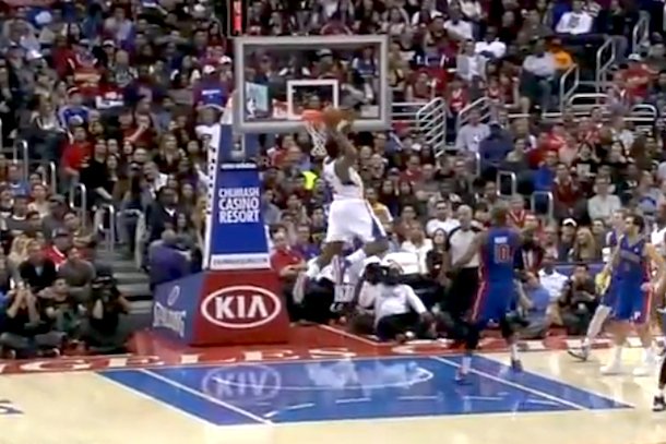 deandre jordan monster dunk