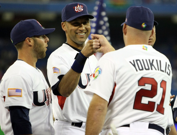 derek jeter kevin youkilis dustin pedroia team use - things you should know about the world baseball classic