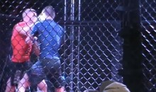 Double Knockout During Amateur MMA Bout (Video)