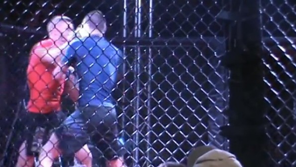 double knockout amateur mma