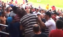 Rugby Fans Brawl During Super League Match in South Africa (Video)