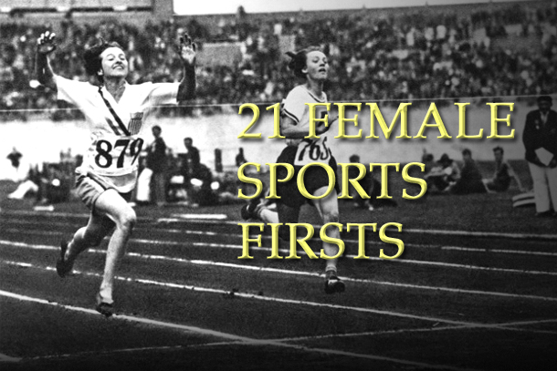 female sports firsts