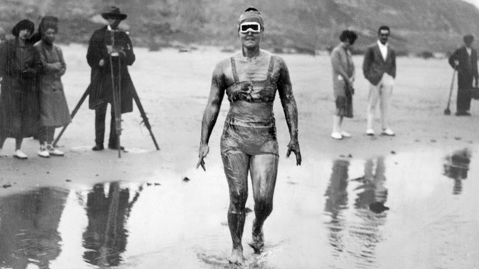 gertrude ederle - female sports firsts