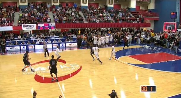 insane high school basketball buzzer-beater new rochelle