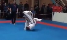 This Karate Kick Knockout Is Absolutely Ridiculous (Video)