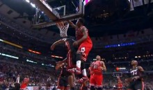 Jimmy Butler Posterized Chris Bosh (Video)