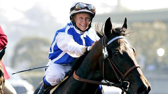 julie krone jockey - female sports firsts