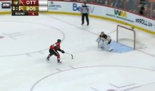 Ottawa Senator Kaspars Daugavins Unsuccessfully Attempts Crazy Shootout Move (Video)