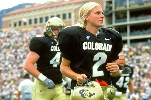 katie hnida colorado - female sports firsts