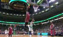 LeBron James Destroys Jason Terry with an Alley-Oop Slam During the Heat's 23rd Consecutive Victory (Video)