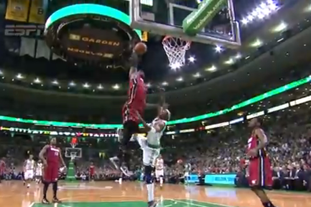 lebron posterized jason terry on alley-oop dunk