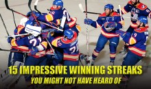 15 Impressive Winning Streaks You Might Not Have Heard Of