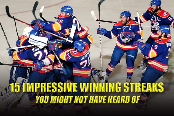 longest winning streaks in sports