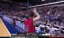 Ole Miss Guard Marshall Henderson Gives Florida Fans the Gator Chomp (GIF)
