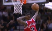 Nate Robinson Busts Out Showtime Layup in Bulls Loss After Missing His First Six Shots (Video)