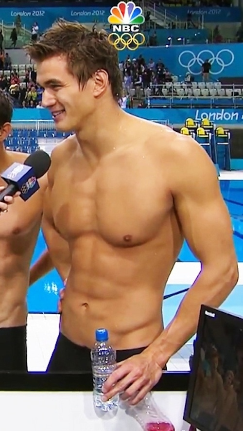 nathan adrian swimmer - fittest bodies in sports
