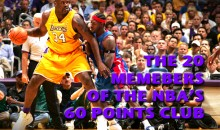 The 20 Members of the NBA's 60 Points Club