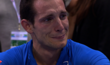 France's Renaud Lavillenie Red Flagged Following Historic Pole Vault, Heartbreak Ensues (Video)
