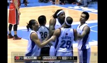 Former Knick Renaldo Balkman Chokes Teammate During PBA Game (Video)