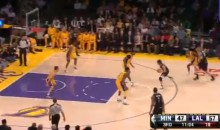 Ricky Rubio Crosses Over Kobe Bryant, Produced Several Highlights Vs. Lakers (Videos)