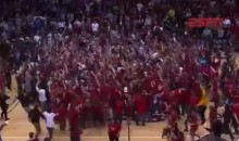Robert Morris Upset Kentucky in the NIT and Celebrated Like National Champions (Video)