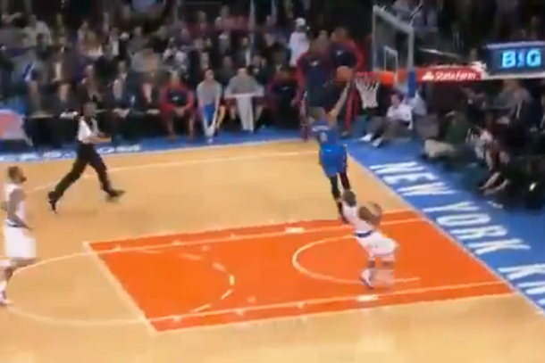 russell westbrook layup fail