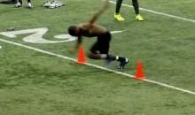 Did Terrell Sinkfield Run a 4.19 40 at Minnesota's Pro Day? (Video)