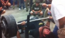 Watch a Texas High School Senior Bench Press 700 Pounds (Video)