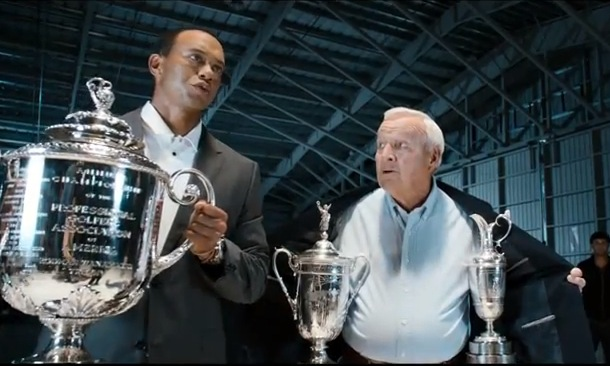 tiger woods arnold palmer ea sports commercial