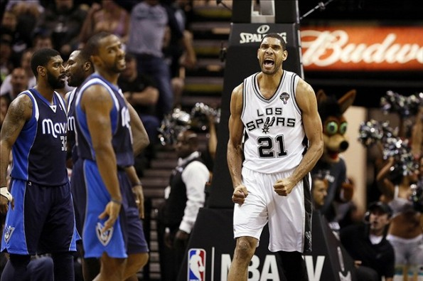 tim duncan vs mavs